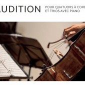 Audition ProQuartet / Académie d'Aix