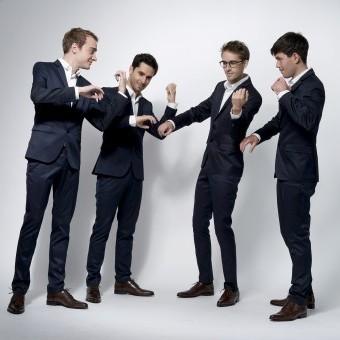 Le Quatuor Yako en concert au siège de l'entreprise Saint-Gobain