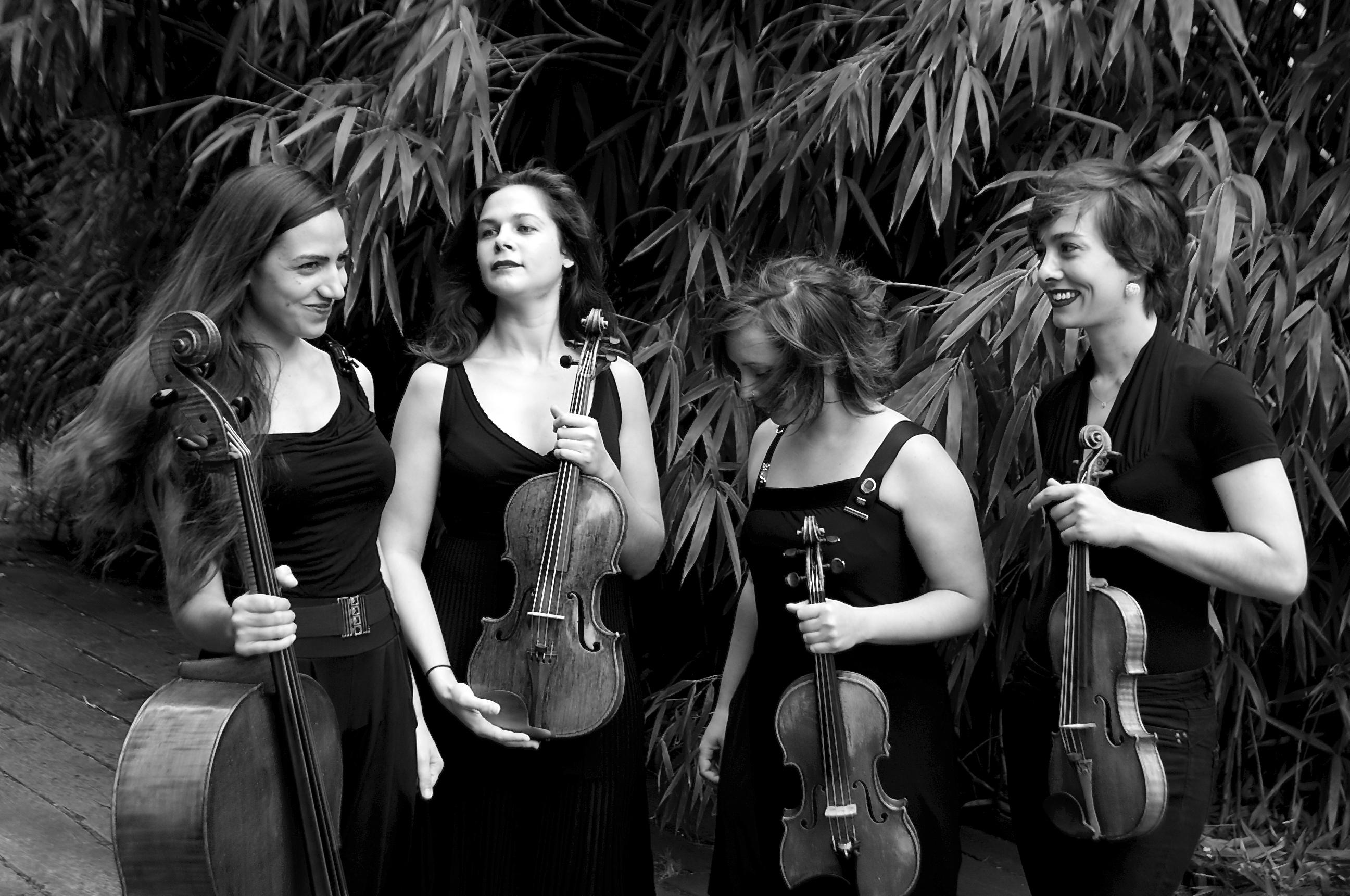 Quatuor za de proquartet centre europ en de musique de - Concours international de musique de chambre de lyon ...